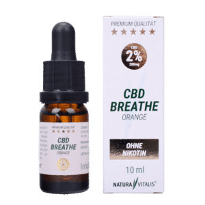 CBD Liquid Orange Natura Vitalis